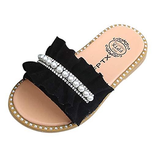Baby Schuhe Baby Mädchen Perlen Kristall Rüschen Prinzessin Hausschuhe Schuhe Kleinkind Kinder Sandalen -