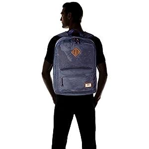 419IIl43RhL. SS300  - Vans Old Skool Plus Backpack Mochila, 44cm, 23L, Dress blaus Heather