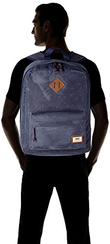 419IIl43RhL - Vans Old Skool Plus Backpack Mochila, 44 cm, 23 L, Dress blaus Heather
