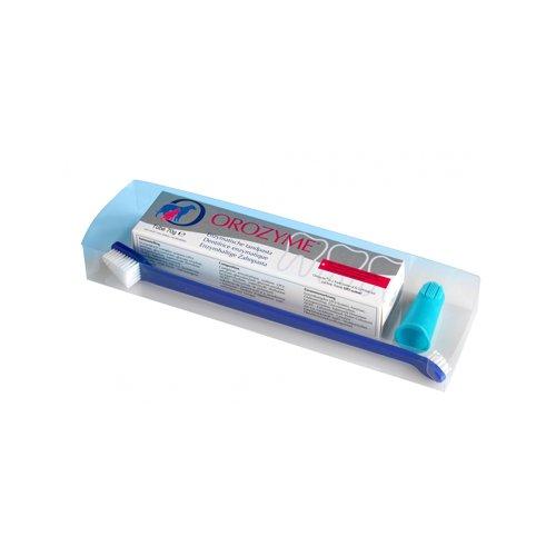Orozyme Zahnpflege-Set (Zahnpasta und -bürste) für Katze & Hund