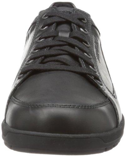 Mephisto GREGOR STEVE 2600 Herren Sneakers Schwarz (STEVE 2600)