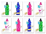 Blueraccoon Fizzii Trinkflasche mit Flaschenbürste