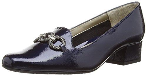 Van Dal Twilight, Damen Pumps, Blau (Marine Navy Feature Patent) , 39 EU (Marine Leder Blau Schuhe Patent)
