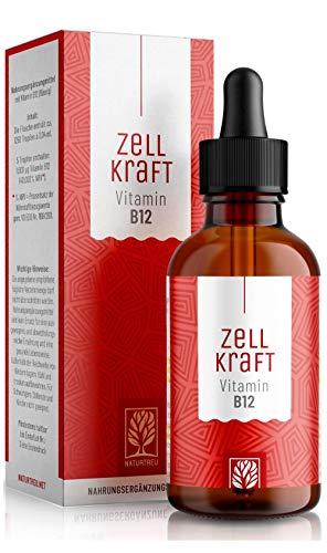 Vitamin B12 Tropfen Hochdosiert - 100{d39058979aa4cc1f9dff651d82760ad9be03ef916c7d4ef0f25766fd10ae32be} Vegan - Methylcobalamin mit 1000µg je Tagesdosis. Vitamin B 12 im 8 Monatsvorrat. Bioverfügbar, laborgeprüft, ohne Zusätze, hergestellt in Deutschland