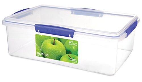 Sistema Cufflinks Catering S488Klip It Container, 35,5cm x 23,5cm x 12cm, 7L