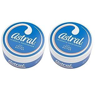 2 X Astral Intensive Moisturiser With Cocoa Butter Face & Body Moisturiser - 200ml