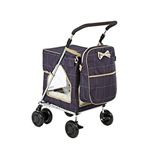 Petmobil (LARGE) Combination Set by Sholley in Three Colours, Folding, Strong & Stable Pet, Dog Stroller, Transporter… 18