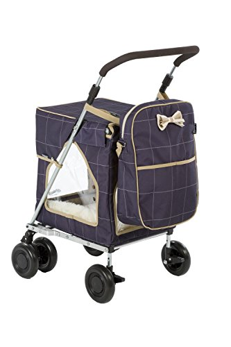 Petmobil (LARGE) Combination Set by Sholley in Three Colours, Folding, Strong & Stable Pet, Dog Stroller, Transporter… 1
