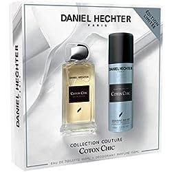 DANIEL HECHTER Ecrin Collection Couture Coton Chic Eau de Toilette 100 ml + Déodorant 150 ml