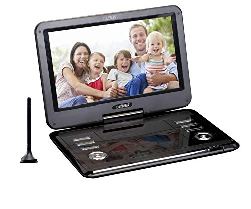 "Denver Electronics MT-1150T2H Portable DVD player Convertibile Schwarz 29,2 cm (11.5"") 1366 x 768 Pixel"