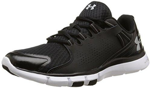 Under Armour Micro G Limitless Tr - Zapatillas de Deportes de Interior de material sintético Hombre, Negro (Black 001), 42