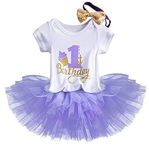 TTYAOVO Bebé Niña 1er cumpleaños
