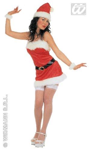 Frauen Santa Kostüme Für Claus (WEIHNACHTSKOSTÜM - SEXY MISS SANTA - Größe 34/36)