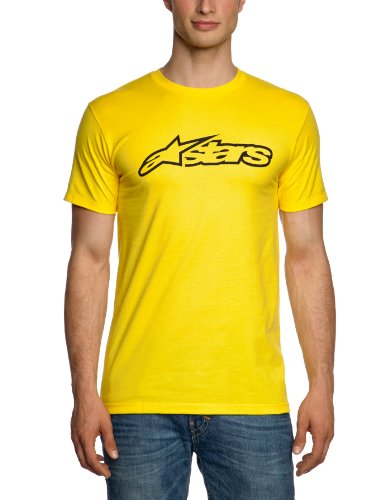 Alpinestars Herren Short Sleeve T-shirts Blaze Classic Tee Gold/Black