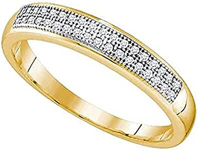 Damen RingVerlobungsring Diamant 0.9 Karat 9 Karat Gelbgold