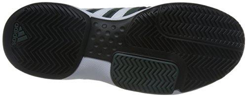 adidas - Barricade Approach S, Scarpe da ginnastica Unisex – Adulto Nero (Negro (Negbas / Ftwbla / Hieuti))