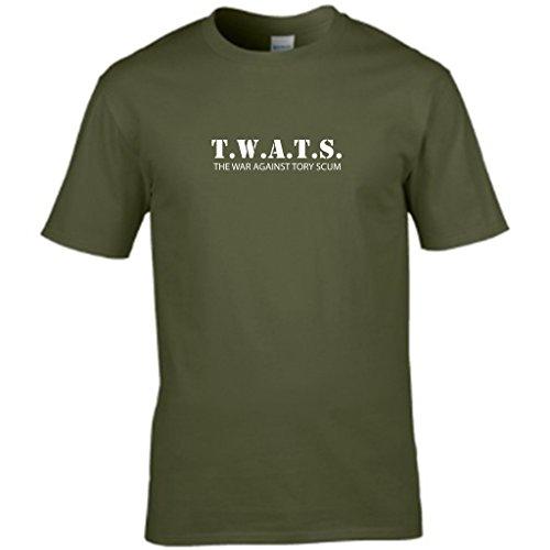 S Tees Herren T-Shirt Grün