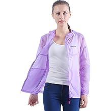Sidiou Group Printemps été Mince Unisex Vêtements de Protection Solaire  Capuche UPF40+ Anti-UV Protection b0ea66bea58