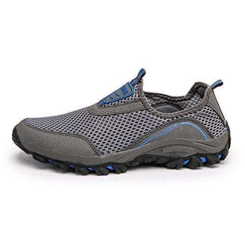 Unisex Erwachsene Sommer Outdoor-Schuhe Männer Leichte Atmungsaktive Mesh-Strand Schnell Trocken waten Licht Angeln Net Wasser Aqua Schuhe Schuhe (Angeln Net Licht)