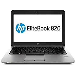 Ordinateur Portable reconditionné HP Elitebook 820 12,5in Intel I5 5300/8 Go de RAM/320 Go/USB 3.0/Webcam/Windows 10 Professional (Reconditionné)