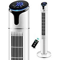 Klimagerät Ventilator Turmventilator Blattloser Elektrolüfter  Standventilator Haushaltsfernbedienung Sanfter Wind/Luftkühler,B