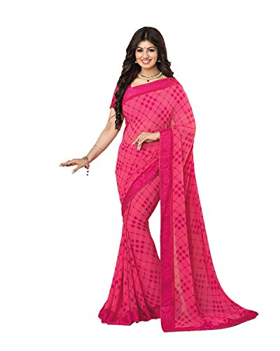 Sarees (Women\'s Clothing Saree For Women Latest Design Wear Sarees New Collection in Orange Coloured Art silk Material Latest Saree With Designer Blouse Free Size Beautiful Bollywood Saree For Women