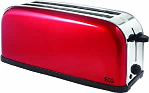 ECG ST 8650 doble Grille-Pain en Acier Inoxydable