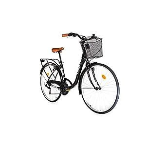 """419IX2QQrBL. SS300 Moma Bikes, Bicicletta Passeggio Citybike Shimano, Alluminio, 18 velocità, Ruota da 28"""""""