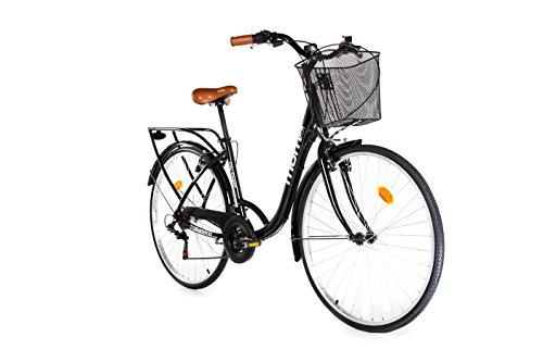 Moma Bikes Bicicleta Paseo  City Classic 28', Aluminio , SHIMANO 18V