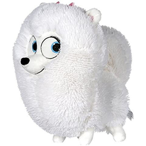 Mascotas (The Secret Life of Pets) - Gidget, perrita blanca 21cm - Calidad Super Soft