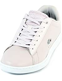 084336eb70db Lacoste Women's Carnaby Evo 119 1 Leather Lace Up Light Purple/White