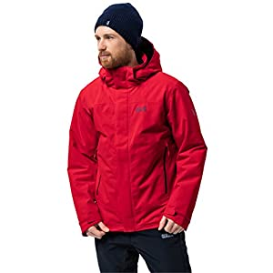 419IXmUShDL. SS300  - Jack Wolfskin Northern Edge Men Winter Jacket Waterproof Windproof Breathable Weatherproof Jacket, Men