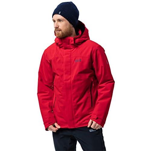 419IXmUShDL. SS500  - Jack Wolfskin Northern Edge Men Winter Jacket Waterproof Windproof Breathable Weatherproof Jacket, Men