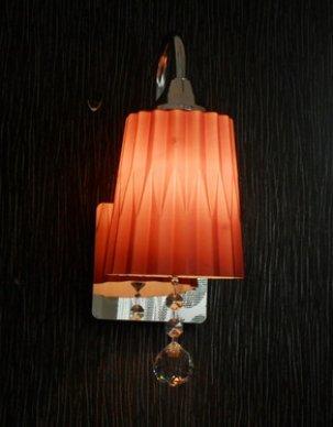 DZXYA Moderno testiera del letto in vetro camera da letto soggiorno luci da parete, sez. C.