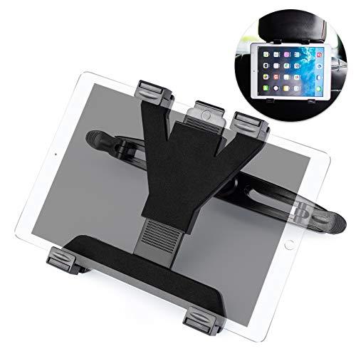 Favoto Auto Tablet Halterung Kopfstütze Universal Auto Halterung KFZ Kopfstützenhalter 360° Drehbar für 4,7-10,5 Zoll Tablet PC E-Book