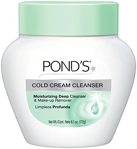 Pond'S Cold Cream Cleanser Moisturizing Deep Cleanser, 6.1 Ounce