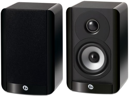 Boston Acoustics A 23 Compact Two-Way 3.5-Inch Woofer Bookshelf/Satellite Speaker (Each Gloss Black)  available at amazon for Rs.20314