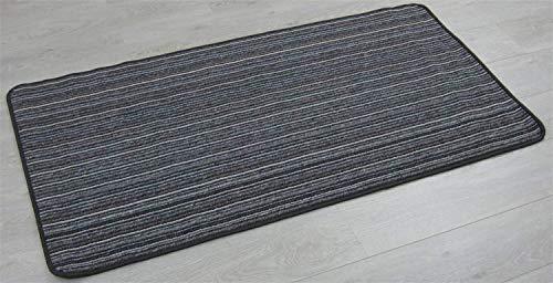 XIAOPING-YANG Antideslizante y Silencioso Alfombra Negro, 80 X 500 Cm