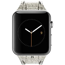 Champagne 38mm Apple Watch Sheer Glam Strap by Case-Mate