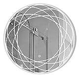 Beleuchteter Spiegel Mit Beleuchtung LED Badspiegel | Demister Pad | Sensorschalter | ExplosionsgeschüTzt
