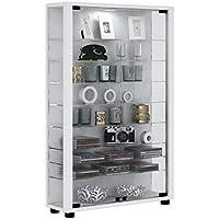VCM Stand Cabinet Lumo Mini White/Without LED Lighting