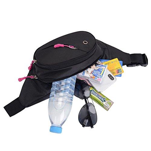 419Iba7LNKL. SS500  - Sasuke Bumbags and Fanny packs for Travel Hiking Running Outdoor Sport Waistpack Money Hip Pouch pack for Men Women