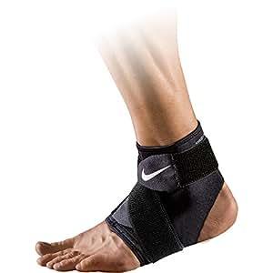 Nike Erwachsene Pro Ankle Wrap 2.0 Knöchelstulpe, Black/White, S