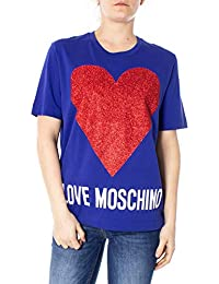 bbc3c2fd Amazon.co.uk: LOVE MOSCHINO - Tops, T-Shirts & Blouses / Women: Clothing