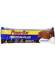Powerbar 30 Barres Proteinplus Low Sugar Goût Chocolat Brownie