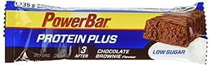 Powerbar Barre Proteinplus Low Sugar Goût Chocolat Brownie - Lot de 30
