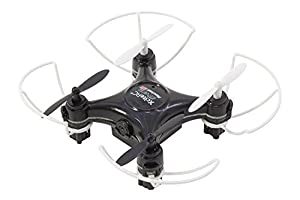 XciteRC 15007750-Rocket 55x XS 3D CAM de cámara de 4Canales RTF cuadricóptero Negro V2de 3Speed con Barra Protectora