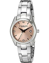 Stührling Original 414L.02 - Reloj analógico para mujer, correa de acero inoxidable, color plateado