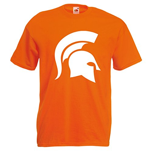 Fruit of the Loom Herren T-Shirt Orange