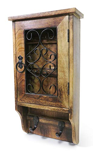Purity Schlüsselkasten aus Holz für die Wand - nie Wieder Ihre Schlüssel verlieren -